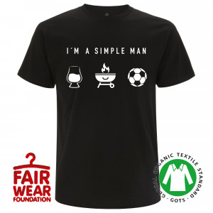 A Simple Man T-Shirt (Schwarz)
