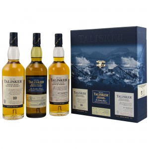 Talisker Collection (3x200ml: Talisker 10 Jahre, Talisker 57°North, Talisker Distillers Edition)