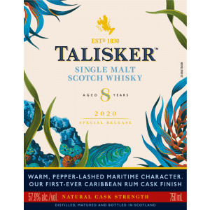 Talisker 8 Jahre - Special Release 2020