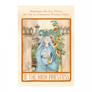 II. The High Priestess Flyer (whic Tarot)
