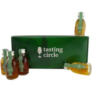 Whiskyregionen Schottlands Tasting Set (Tasting Circle)