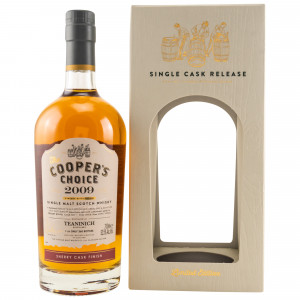 Teaninich 2009/2019 Sherry Cask Finish Single Cask  (The Coopers Choice)