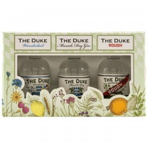 The Duke Gin Miniatur Set 3x0,05l Munich Dry-Wanderlust-Rough (Bio)