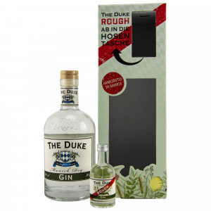 The Duke Munich Dry Gin im Set mit Rough Gin (Miniatur)