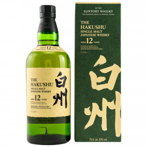 Hakushu 12 Jahre Single Malt Japanese Whisky
