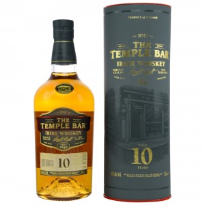 The Temple Bar 10 Jahre Single Malt Irish Whiskey (Irland)