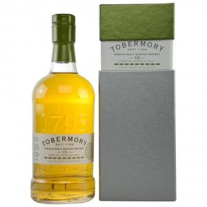 Tobermory 15 Jahre Spanish Oak Brandy Finish