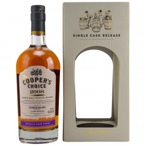 Tobermory 2008/2018 Marsala Cask Finish Single Cask No. 6669 (Vintage Malt Whisky Company - The Coopers Choice)