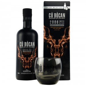 Tomatin Cu Bocan 2006 Limited Edtion mit Glas