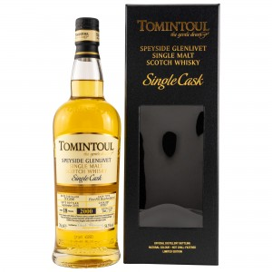 Tomintoul 2000/2018 18 Jahre First Fill Bourbon Single Cask