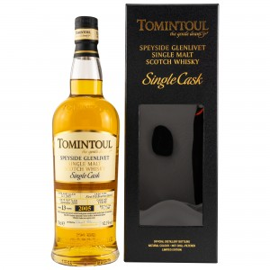 Tomintoul 13 Jahre Single Cask First Fill Bourbon