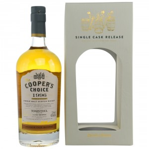 Tomintoul 1996/2017 Bourbon Cask Matured (The Coopers Choice)