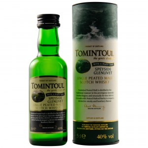 Tomintoul Peaty Tang Gently Peated (Miniatur)