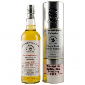 Tullibardine 2007/2018 Casks No. 800115+800117 (Signatory Un-Chillfiltered)