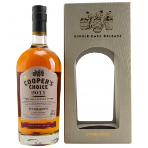 Tullibardine 2011/2018 Port Cask Finish (Vintage Malt Whisky Company - The Coopers Choice)