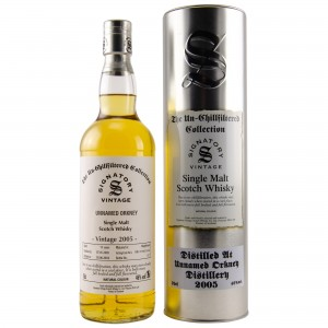 Unnamed Orkney 2005/2018 Cask No. Dru 17/A63 53+54 (Signatory Un-Chillfiltered)