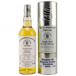 Unnamed Orkney 2005/2018 Cask No. DRU17/A63 66+67 (Signatory Un-Chillfiltered)