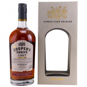 Wardhead 1997/2018 21 Jahre Port Finish Blended Malt (Vintage Malt Whisky Company - The Coopers Choice)