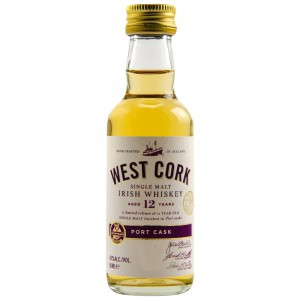 West Cork 12 Jahre Port Cask Finish (Irland) (Miniatur)
