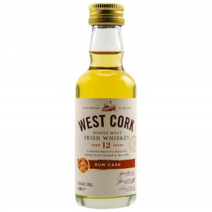 West Cork 12 Jahre Rum Cask Finish (Irland) (Miniatur)