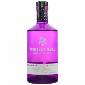 Whitley Neill Rhubarb and Ginger Handcrafted Dry Gin