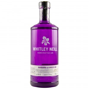 Whitley Neill Rhubarb & Ginger Handcrafted Dry Gin