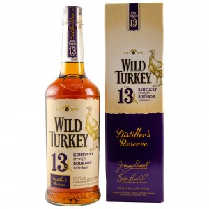 Wild Turkey 13 Jahre Distillers Reserve Kentucky Straight Bourbon Whiskey (USA: Bourbon)