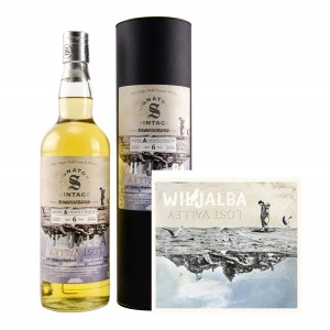 Bunnahabhain Moine 2011/2018 Bottled for Wiljalba - Set mit CD (Signatory)