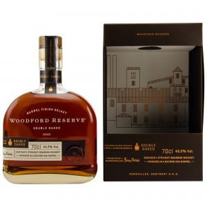 Woodford Reserve Barrel Finish Select Double Oaked - Dekanterflasche (USA: Bourbon) (mit Geschenkverpackung)