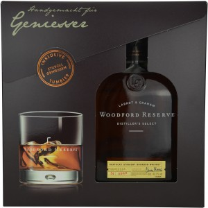 Woodford Reserve Distillers Select mit Tumbler (USA: Bourbon)