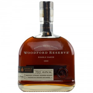 Woodford Reserve Barrel Finish Select Double Oaked - Dekanterflasche (USA: Bourbon)