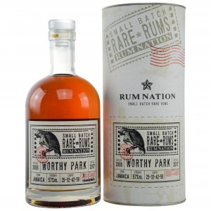 Rum Nation Small Batch Rare Rums Worthy Park 2006/2017