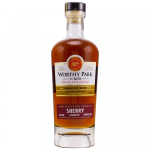 Worthy Park 2013/2018 Special Cask Release Sherry Finish