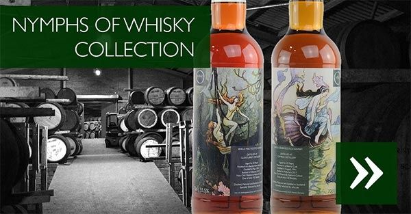 Whiskys der Nymphs of Whisky Collection