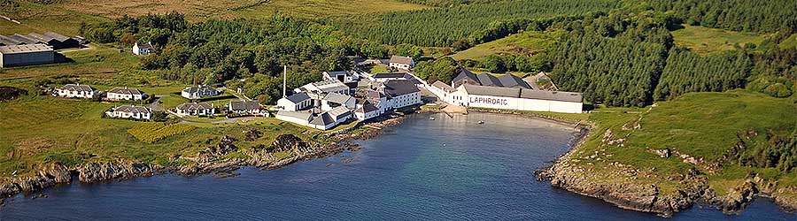 Laphroaig Distillery, Isle of Islay