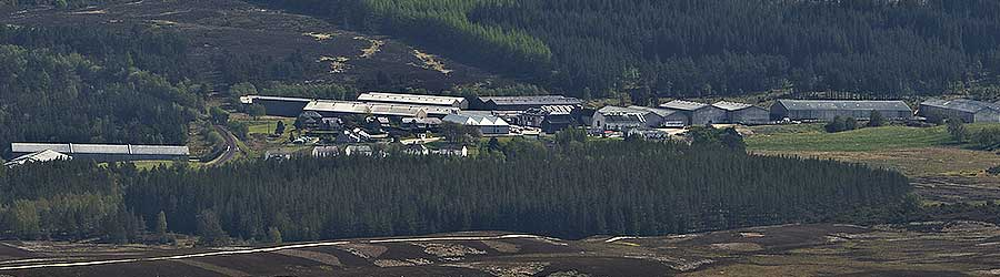Tomatin Distillery, Highlands