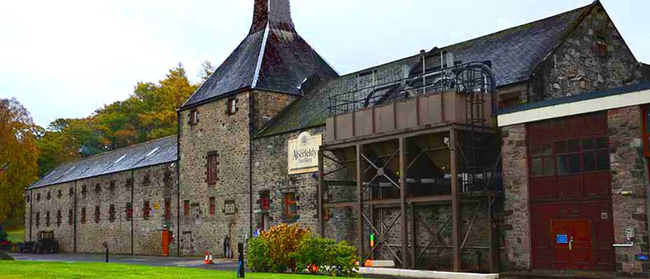 Aberfeldy Distillery, Highlands