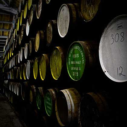 Fassreifung (Foto: Arran Distillery)