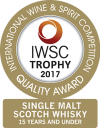 Balvenie IWSC 2017 Single Malt Scotch Whisky<15